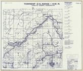 Township 10 N., Range 1 W., Camp Cowlits, toutle River, Silver Lake, Tower, Wilkes Hills, Cowlitz County 1968